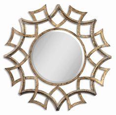 Uttermost Demarco Round Mirror