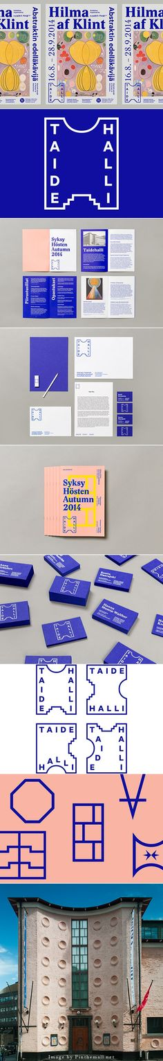 Finnish studio Tsto have been tantalising us with great work for years and yet again I can't help but be drawn to their new identity for Taidehalli, an art and design museum based in Helsinki.  Using the physical Taidehalli building as a starting point, Tsto pulled graphic elements from the structure to inform the basic identity. Small details and the basic shapes seen in the museum's entrance for instance have inspired the final logo, which is a clean, modern and playful interpretation of…