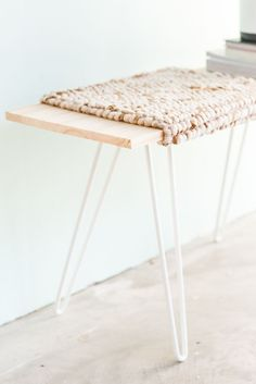 How to make a budget-friendly bench in under an hour | Paper & Stitch