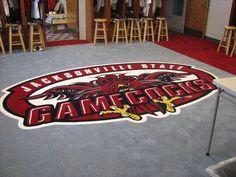 JSU Baseball locker room