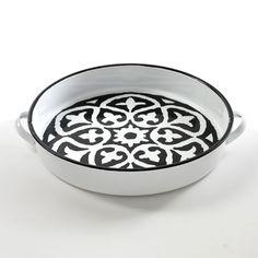 Taca emaliowana MOSAIC - agamartin.com - Design Skandynawski, Meble Skandynawskie, Duńskie, Industrialne, Retro, Vintage, Organic, Fabryczne