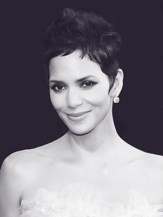 Halle Berry. Oh ya know , just looking perfect and stuff.
