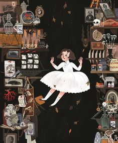 跟插畫家一起掉進絕美的愛麗絲夢遊仙境 - Marie Claire 美麗佳人風格時尚網