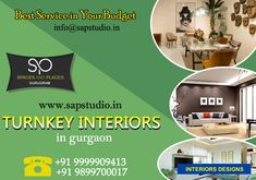 Turnkey Interiors in Gurgaon Residential Interior Design, Interior Designing, Commercial Interiors, Neutral Colors, Simple Designs, Creative Ideas, Design Trends, A Team, Budgeting
