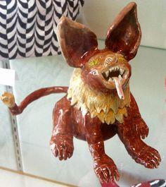 Kids Art Market: Gargoyle Scale Sculpture