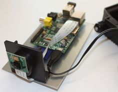Motion-sensing camera made with Raspberry Pi. This would be perfect for my bird feeder.