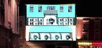 Gebäudemapping für Club 3 - Cinema Pardiso mit Christian Munk
