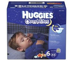 Huggies Overnites Diapers, Size 6, 44-Count - http://www.intomars.com/huggies-overnites-diapers-size-6.html