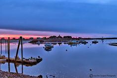 Sunrise over Rye Harbor in Rye NH. Photo courtesy: Don Gargano Photography #livefreenh