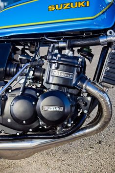 "Racing Cafè: Suzuki GT 750 ""Rizla"" specials"