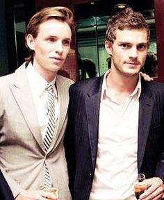 A Look Back At Eddie Redmayne And Jamie Dornan's Sexy Bromance In Photos! [PHOTOS]