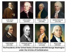 articles about confederation place in president