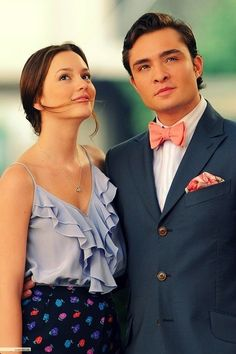 Chuck and Blair. Gossip Girl. Amo esta serie y a ellos