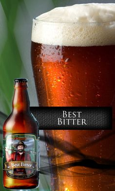 Picaroons Best Bitter - Fredericton NB Canadian Beer, Best Beer, Fun Drinks, Bitter, Craft Beer, Brewery, Beer Bottle, Men, Products