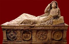 etruscans history | History and Women: Those Scandalous Etruscan Women