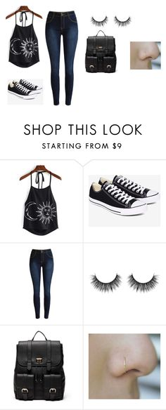 """""""Untitled #123"""" by shortiiiee on Polyvore featuring Converse and Sole Society"""
