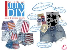 4th of July DIY: Salutes to Stars