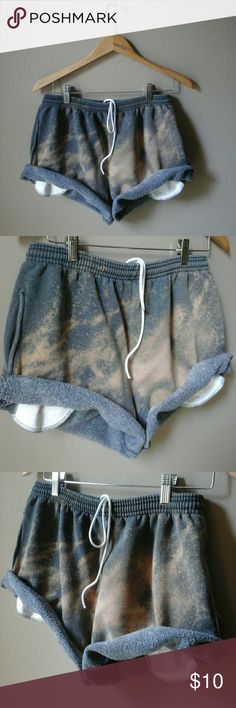 Grunge upcycle shorts cut off sweats sz small to m Custom  Upcycled  LF inspired lf Shorts