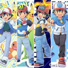 Cool Pokemon Wallpapers, Cute Pokemon Wallpaper, Art Pokemon, Pokemon Funny, Pokemon Ash Ketchum, Owl Tattoo Drawings, Pokemon People, Cute Pikachu, Amazing Spiderman