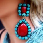 LOVE THESE CLAY, HANDMADE AND HAND PAINTED PIECES FROM TEXAS!  www.giddyupglamou...