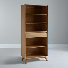 House by John Lewis Stride Wide Bookcase at John Lewis