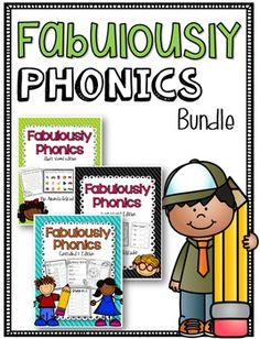 Who doesn't love a good deal? By buying this bundle you save!! You have to have this fabulous resource! We all know that phonics skills are the building blocks, for reading, writing, and decoding words! This pack includes my Fabulously Phonics: short vowel pack, Fabulously Phonics: long vowels pack, and my Fabulously Phonics: Controlled r vowels pack!