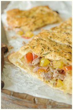 Vegetable & Tuna Roll (Put stuffing into whole wheat pitas or roll in whole wheat tortillas for a healthier twist.)