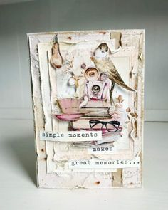 Book Making, Card Making, Diy And Crafts, Paper Crafts, Great Memories, Junk Journal, Mini Albums, Handmade Cards, Mixed Media