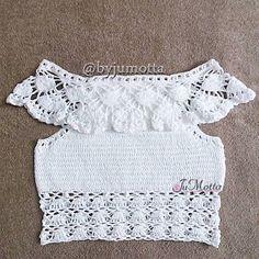 ผลการค้นหารูปภาพสำหรับ cropped crochet ciganinha