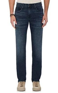 J BRAND TYLER SLIM JEANS. #jbrand #cloth #jeans Slim Jeans, Barneys New York, J Brand, Stretch Denim, Mens Fashion, Legs, Archer, Pants, Shopping