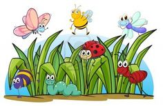 Illustration of various insects and grass on a white backgro.- Illustration of various insects and grass on a white background – Millions of Creative Stock Photos, Vectors, Videos and Music Files For Your Inspiration and Projects. Nature Drawing For Kids, Art Drawings For Kids, Easy Drawings, Art For Kids, Classroom Walls, Classroom Decor, Garden Mural, Spring Coloring Pages, School Murals