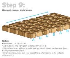 Tumbling Blocks 3d Cutting Board Cutting Boards