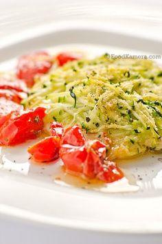 Filetto di S.Pietro in crosta di zucchine e pomodorini ciliegia