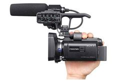 Sony HXR-NX30U HD Camcorder with Projector - Campbell Cameras. Now available for Pre-Order