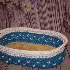 Basket, Crochet, Interior, Indoor, Ganchillo, Interiors, Crocheting, Knits, Chrochet