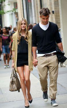 Olivia Palermo e namorado