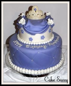 Sophia The First Cake By Cake Savvy In Jacksonville Florida