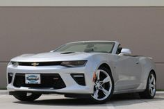 Certified 2017 Chevrolet Camaro SS Convertible Convertible for sale near you in Lewisville, TX. Get more information and car pricing for this vehicle on Autotrader.