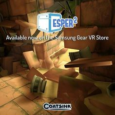 An awesome Virtual Reality pic! #repost from @coatsinksoftware: #Esper2 is now available for purchase on the #SamsungGearVR store!  Continue your telekinetic journey as you set out on a journey to recover a mysterious artefact.  Nick Frost Lara Pulver Sean Pertwee and Eric Meyers will accompany you as their characters aid you on your mission.  Venture through ancient temples underwater lairs and more as you use your wits to solve puzzles and uncover mysteries.  @Oculus #VR #VirtualReality…