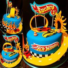 Resultado de imagen para pastel de hot wheels