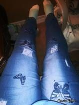 Tallas Grandes Mariposa Bordado Pantalones Vaqueros Rasgados Windows Azul | Rosegal.com Spain Rosegal, Jeans, Fashion, Torn Jeans, Long Pants, Plus Size, Blue, Needlepoint, Moda
