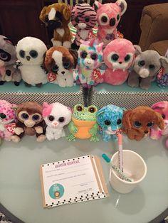 Choose a Beanie Boo station  - Adopt a Beanie Boo party