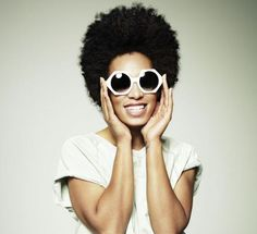 Solange Knowles in 'Hex' Oliver Goldsmith sunglasses  #Sunglasses #GetTheLook #JosephsonOpticians