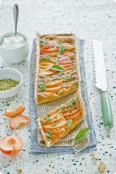 Apricot and Pistachio Frangipane Tart
