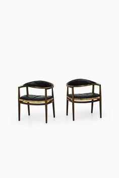Ole Gjerløv-Knudsen armchairs by C.B. Hansen at Studio Schalling