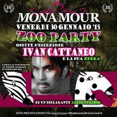 Ivan Cattaneo e la Zebra al Monamour Rimini