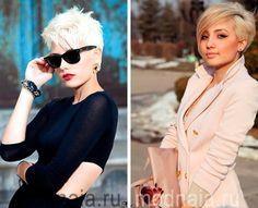 Модные короткие стрижки 2017, женские фото для блондинок