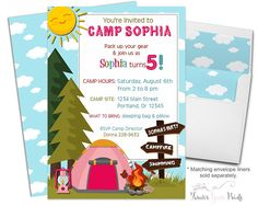 47 best camping party theme images on pinterest camping parties
