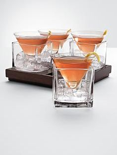 I don't always drink martinis, but when I do I prefer them served in these....
