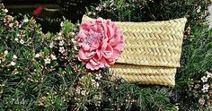 744 & CAPAZOS ... Clutch flower pink ... New Collection 2017 by 744